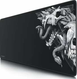 Titanwolf Wolf Skull XXL Speed Gaming-Mauspad, schwarz (7237845214)