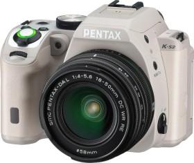 Pentax K-S2 beige mit Objektiv HD DA 18-50mm WR (13953)