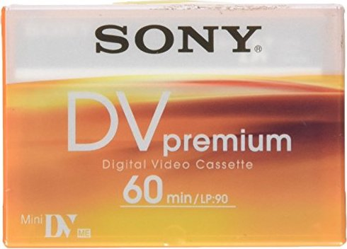 Sony DVM60PR Premium MiniDV-Kassette -- provided by bepixelung.org - see http://bepixelung.org/5146 for copyright and usage information