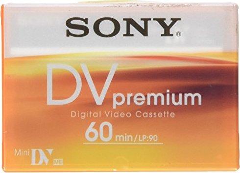 Sony DVM60PR Premium miniDV cassette -- © bepixelung.org