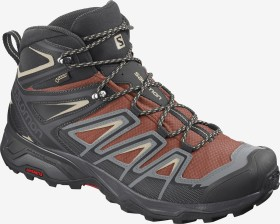 Salomon X Ultra 3 Mid GTX burnt brick/black/bleached sand (Herren) (409905)
