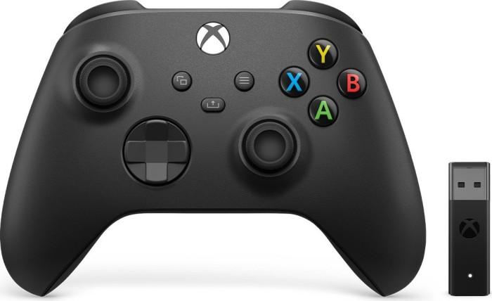 Microsoft Xbox Series X Wireless Controller & Drahtlosadapter für Windows (PC/Xbox SX/Xbox One) (1VA-00002)