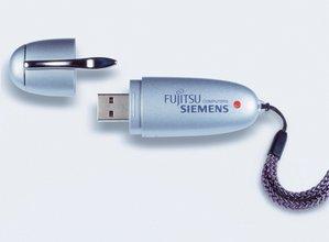 Fujitsu Memorybird USB Drive 16MB, USB-A 1.1 (805000379)