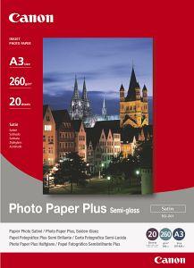 Canon SG-201 Fotopapier Plus A3, 260g, 20 Blatt (1686B026)