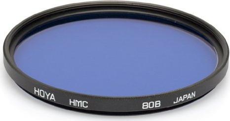 Hoya Filter colour correction blue 80B KB12 HMC (Y5KB80B) (various sizes) -- via Amazon Partnerprogramm