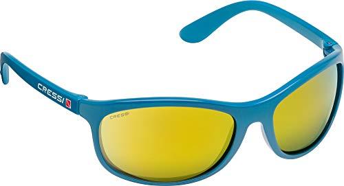 Cressi Rocker Sonnenbrille, Glänzend Schwarz, One Size