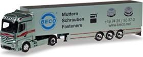 Herpa Mercedes-Benz Actros Bigspace Koffer-Sattelzug Bagemühl (307055)