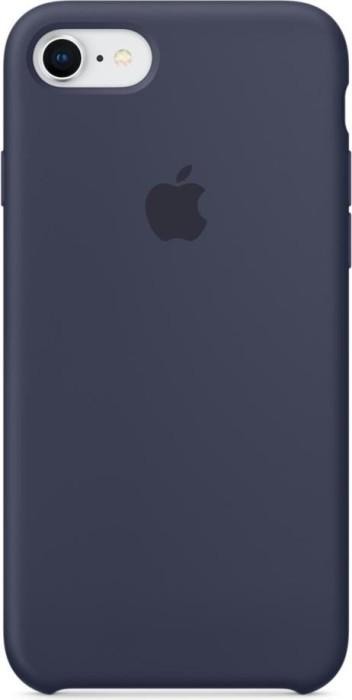 Apple Silikon Case für iPhone 8 mitternachtsblau (MQGM2ZM/A)