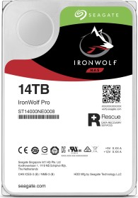 Seagate IronWolf Pro NAS HDD +Rescue 28TB Bundle, SATA 6Gb/s, 2x 14TB-Pack (ST14000NE0008X2)
