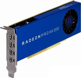 AMD Radeon Pro WX 3200, 4GB GDDR5, 4x mDP (100-506115)