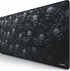 Titanwolf Skulls XXL Speed Gaming-mousepad, black (23033602/GE81949-680-2286)