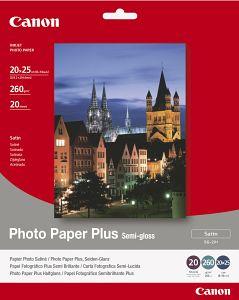 Canon SG-201 Fotopapier Plus 20x25, 260g, 20 Blatt (1686B018)