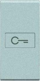 Bticino LivingLight Axial-Wippe Schlüssel 1-modulig, tech (NT4916F)