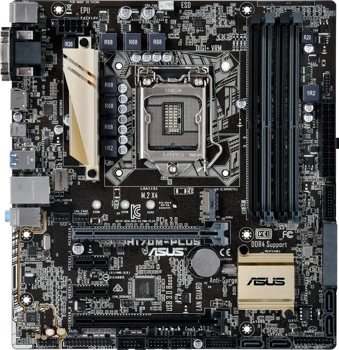 ASUS H170M-Plus (90MB0MT0-M0EAY0)
