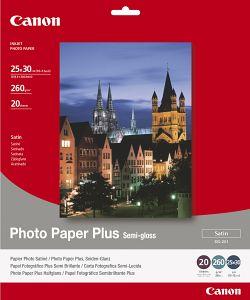 Canon SG-201 Fotopapier Plus 25x30, 260g, 20 Blatt (1686B024)