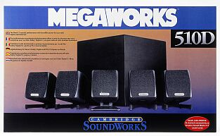 Creative Cambridge SoundWorks MegaWorks 510D (5300000002014)