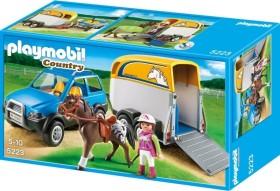 playmobil Country - PKW mit Pferdeanhänger (5223)