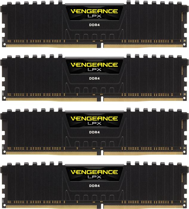 Corsair Vengeance LPX schwarz DIMM Kit 32GB, DDR4-4133, CL19-25-25-45 (CMK32GX4M4K4133C19)