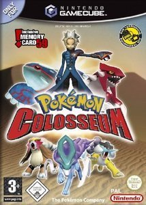 Pokemon Colosseum (inkl. Memorykarte) (German) (GC)