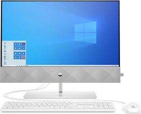 HP All-in-One 24-k0004ng, Snowflake White (1M5Y6EA#ABD)