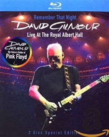 David Gilmour - Remember That Night? Live At The Royal Albert Hall (Blu-ray)