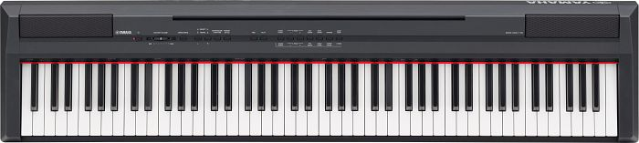 Yamaha P-105B black digital piano