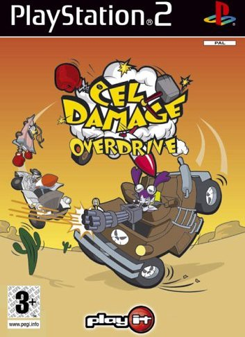 Cel Damage Overdrive (German) (PS2) -- via Amazon Partnerprogramm