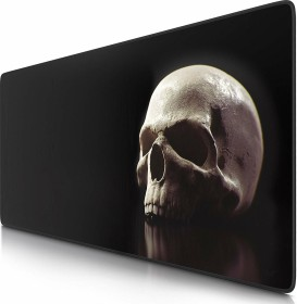 Titanwolf Skull XXL Speed Gaming-Mauspad, schwarz