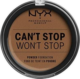 NYX Can't Stop Won't Stop Powder Foundation cappuccino, 10.7g