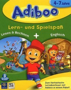 Adiboo: read & calculate + English (German) (PC/MAC)