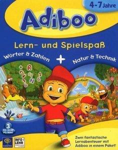 Adiboo: words & numbers + nature & technics (PC/MAC)
