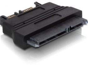 DeLOCK SATA 6Gb/s + SATA-power > Slim-SATA (61694)