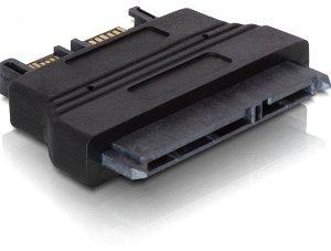 DeLOCK SATA 6Gb/s + SATA-power > slim -SATA (65156)