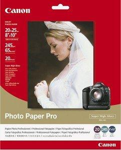 Canon PR-101 Fotopapier Pro 20x25, 245g, 20 Blatt (1029A059)