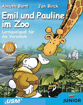 United Soft Media: Junior: Emil und Pauline im Zoo, Vorschule (deutsch) (PC/MAC)