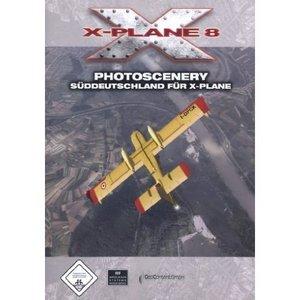 X-Plane Version 8.0 - Photoscenery Süddeutschland (Add-on) (englisch) (PC/MAC)