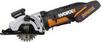 Worx WX523 20V PowerShare cordless circular saw incl. case + rechargeable battery