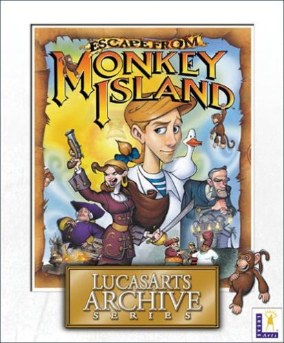 Monkey Island: Escape from Monkey Island (angielski) (PC) -- via Amazon Partnerprogramm