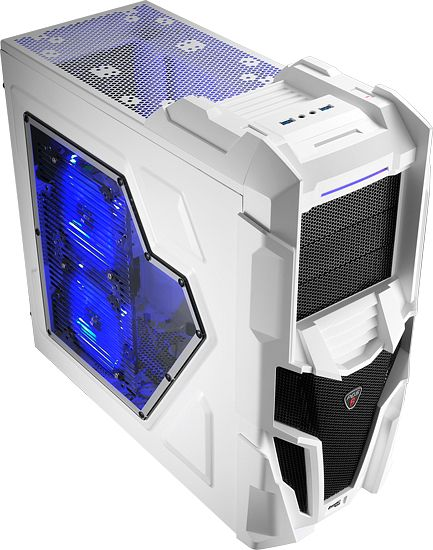 AeroCool Mechatron white with side panel window (EN57042)