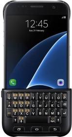 Samsung Keyboard Cover QWERTZ für Galaxy S7 Edge schwarz (EJ-CG935UBEGDE)