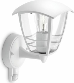 Philips myGarden Creek wall lamp with motion detector white (15388/31/16)