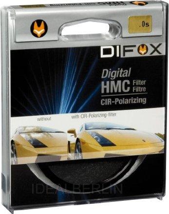 Difox Filter Pol Circular HMC Digital 58mm (8671) -- via Amazon Partnerprogramm