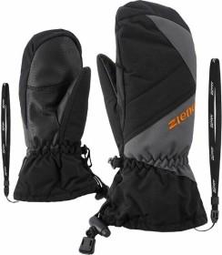 Ziener Agilo AS Mitten Skihandschuhe magnet/black (Junior) (801906-12757)