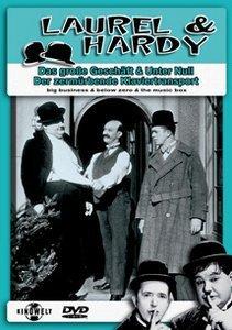 Laurel & Hardy - Das grosse Geschäft/Der zermürbende Klaviertransport/Unter Null
