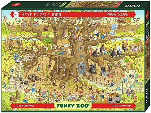 Heye Puzzle Monkey Habitat (29833) -- via Amazon Partnerprogramm