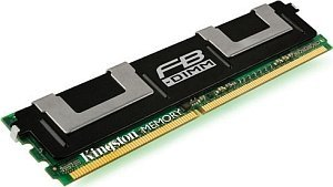 Kingston ValueRAM Intel FB-DIMM 2GB PC2-5300F ECC CL5 (DDR2-667) (KVR667D2S4F5/2GI)
