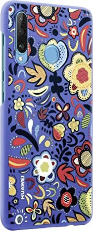 Huawei PC Case für P30 Lite floral blue (51993074) -- via Amazon Partnerprogramm