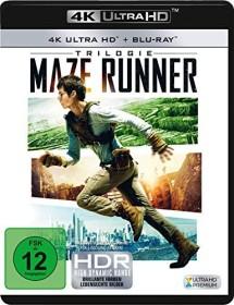Maze Runner Trilogie (4K Ultra HD)