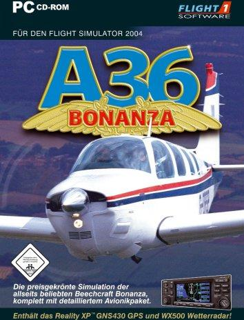Flight Simulator 2004 - Beech A36 Bonanza (Add-on) (deutsch) (PC) -- via Amazon Partnerprogramm