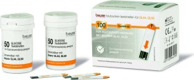 Beurer bloodsugar test stripes for GL 44/50/50 evo, 100 pieces (2x 50 pieces) (464.13)